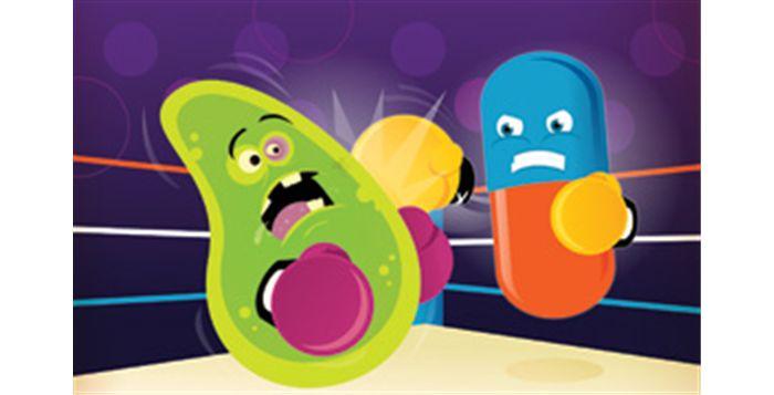 Bakteri yang kebal pada antibiotik