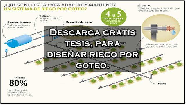 Libros y noticias de agronomia como dise ar un sistema - Sistema de riego por goteo automatizado ...