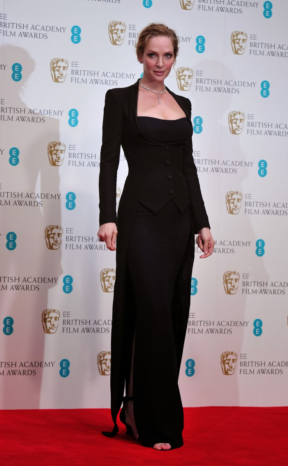 Actor, Actress, Angelina Jolie, Awards, BAFTA, BAFTA 2014, Brad Pitt, Britain, British Academy Film Awards, Cate Blanchett, Entertainment, Film, Hollywood, London, Movies, Royal Opera House, Show, Showbiz, Television,