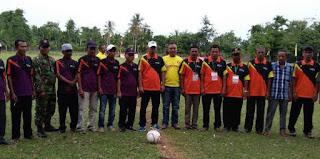 Erwanto Buka Turnament Bola Manggeng Raya