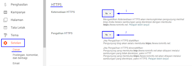 Cara Simpel Mengaktifkan HTTPS di Blog Custom Domain TLD