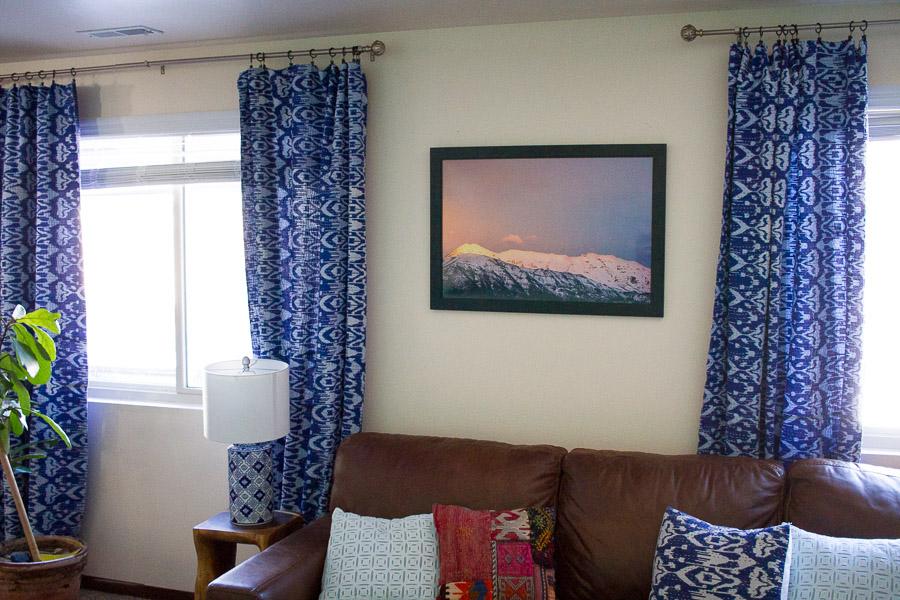 kantha quilt curtains