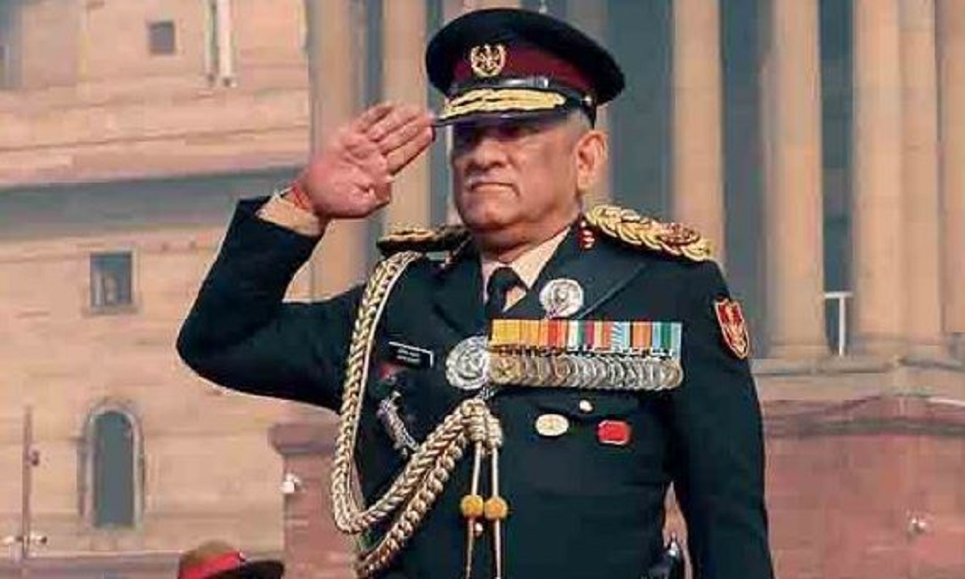 CDS General Bipin Rawat Warns China And Pakistan