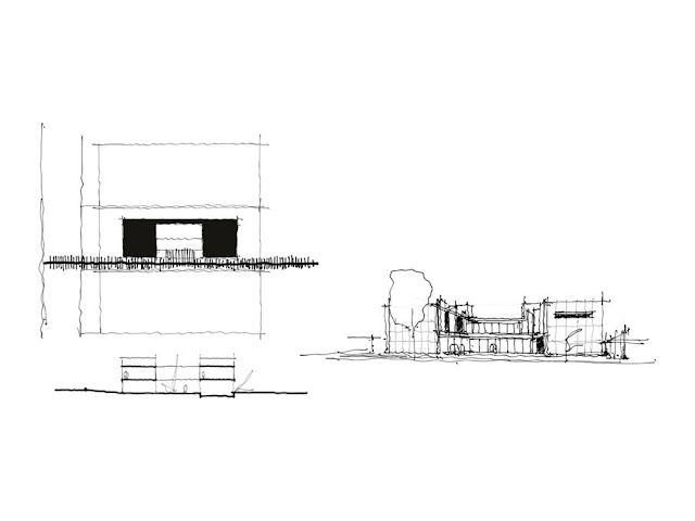 Projeto Casa Ribas criado pelo Estúdio MRGB - Esboço