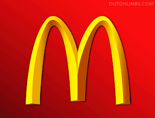 Every McDonald's Logo past and present Golden Arches Large