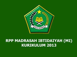 RPP Fiqih Kelas 5 MI Kurikulum 2013 (Madrasah Ibtidaiyah