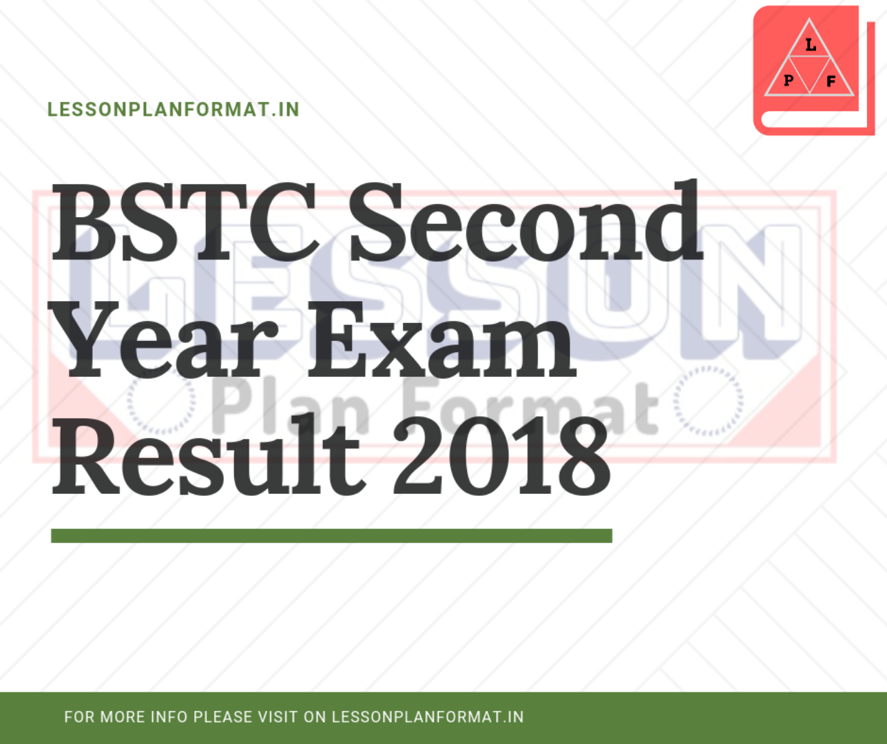 BSTC Second Year Exam Result 2018