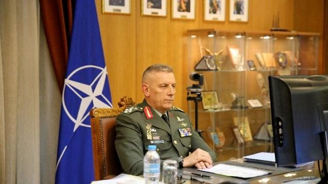 O στρατηγός Κωνσταντίνος Φλώρος στη Σύνοδο της Στρατιωτικής Επιτροπής του NATO