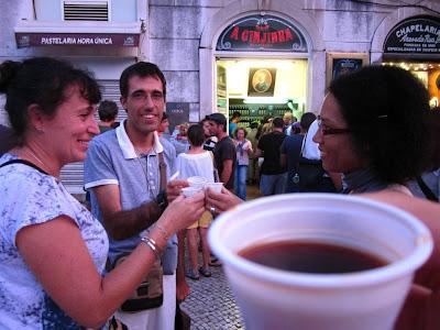 A Ginjinha in Lisboa