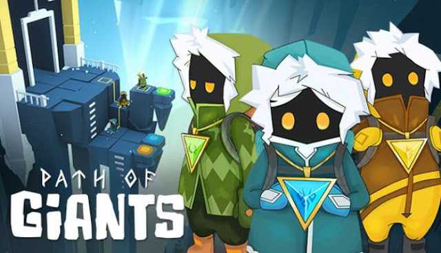 Path of Giants offers us to go to the ice mountain in the company of small brave explorers and travelers.