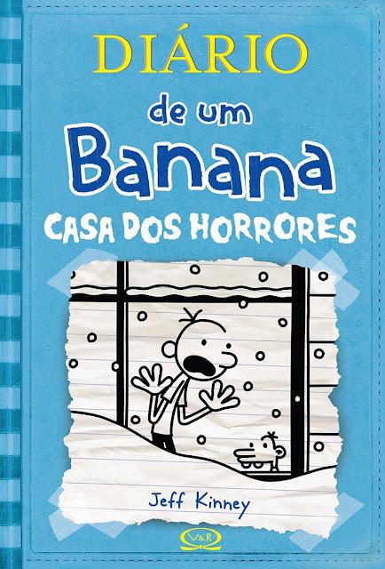 Diário de um Banana Casa dos horrores Jeff Kinney
