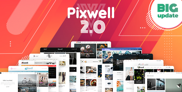 Best Modern Magazine Wordpress Theme|Pixwell