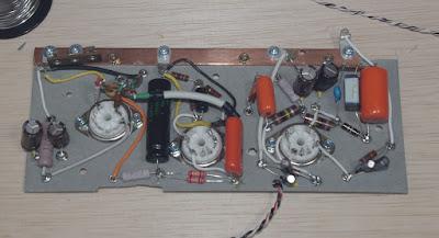 installing pre amp elements