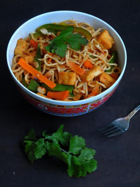 Vegan Tofu Chowmein, Tofu Chowmein