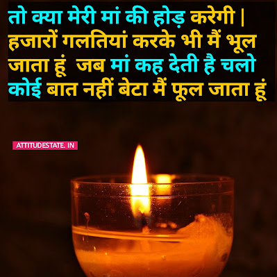 Heart Touching Best 20 Lines on Mother in Hindi Fonts