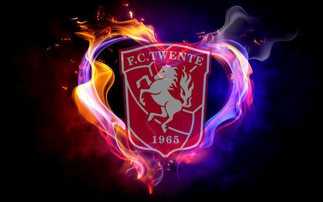 FC Twente achtergrond met logo