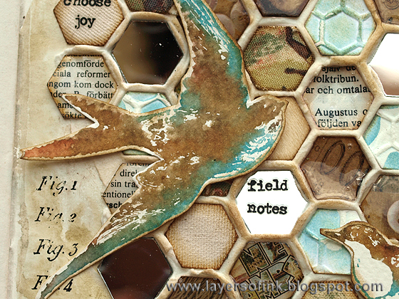 Layers of ink - Frameworks Mosaic Tutorial by Anna-Karin