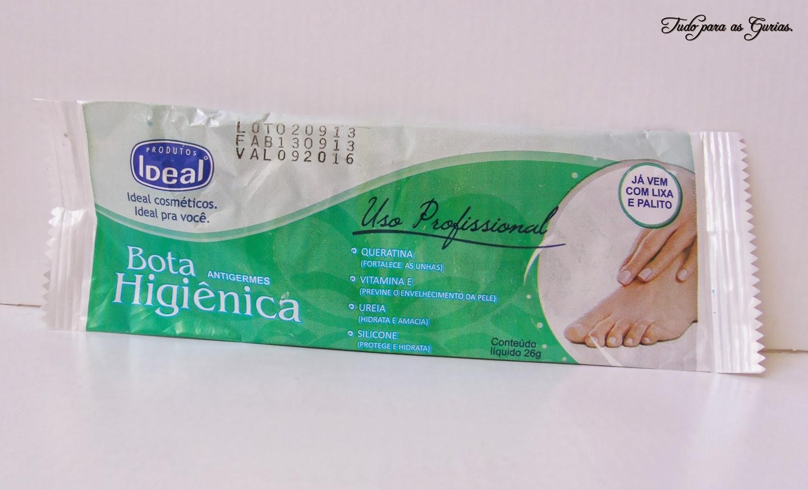 Resenha: Bota higiênica da Ideal.