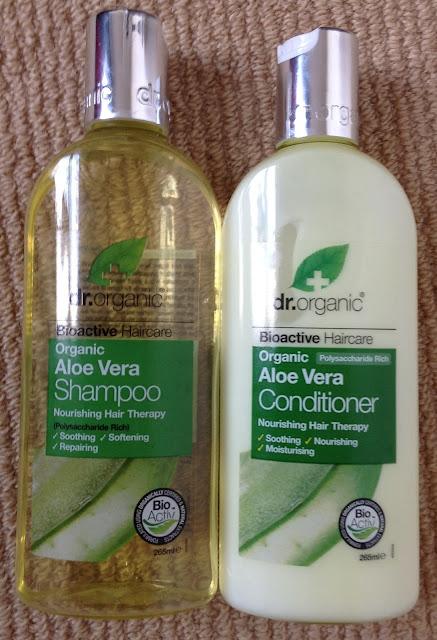 dr.organic Aloe Vera Shampoo & Conditioner | I Am Fabulicious