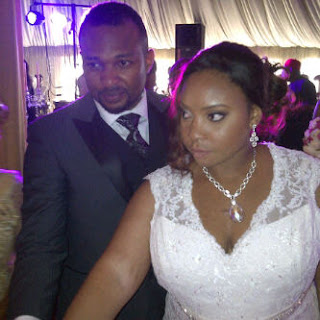 Chigozie Atuanya white wedding photos