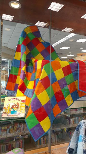 Little Critter's patchwork quilt from Mercer Mayer's children's books