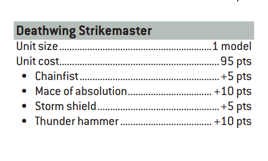Strikemaster ángeles oscuros