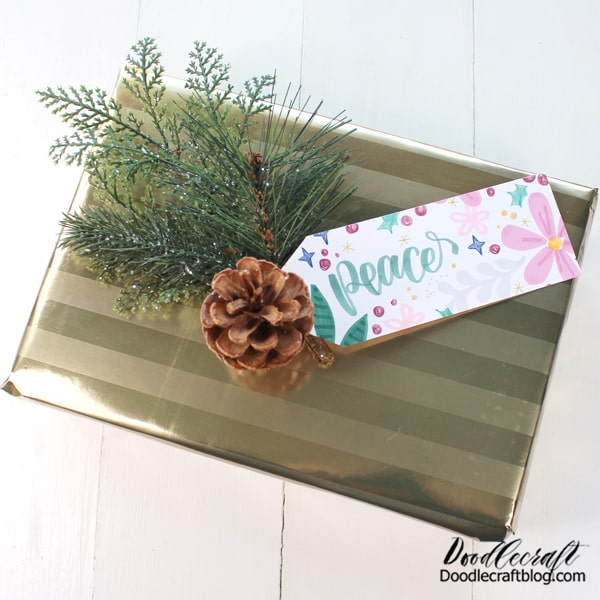 Wrap up Tombow Goodies in gold paper for the perfect creative gift for a friend or family member!