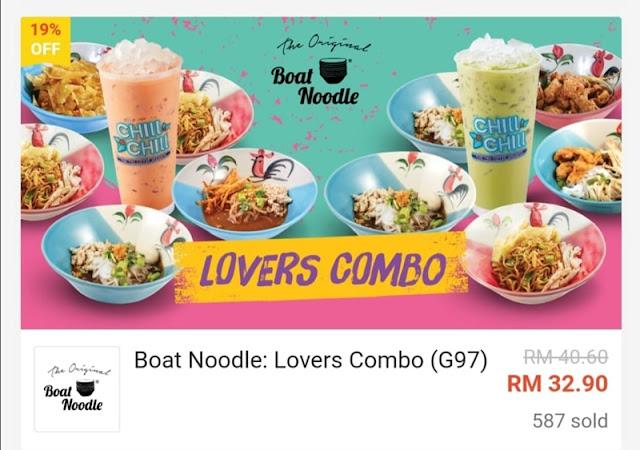 Lovers Combo RM 32.90 Worth RM32.90