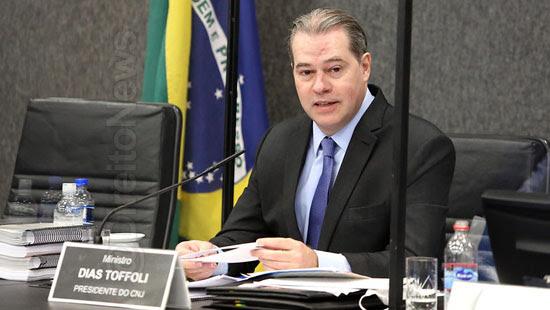 toffoli despede cnj brasil justica diuturnamente