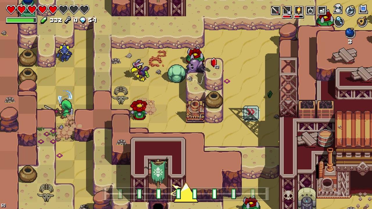 Prévia: Cadence of Hyrule (Switch) e toda a virtuosidade de The Legend of Zelda