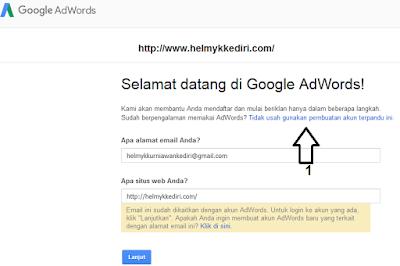 Riset keyword dengan google planner1