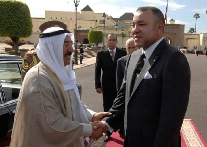 برقية تهنئة إلى جلالة الملك من أمير دولة الكويت بمناسبة حلول شهر رمضان المبارك