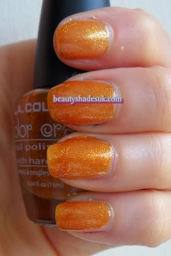 LA Colors Gold Nugget Swatch