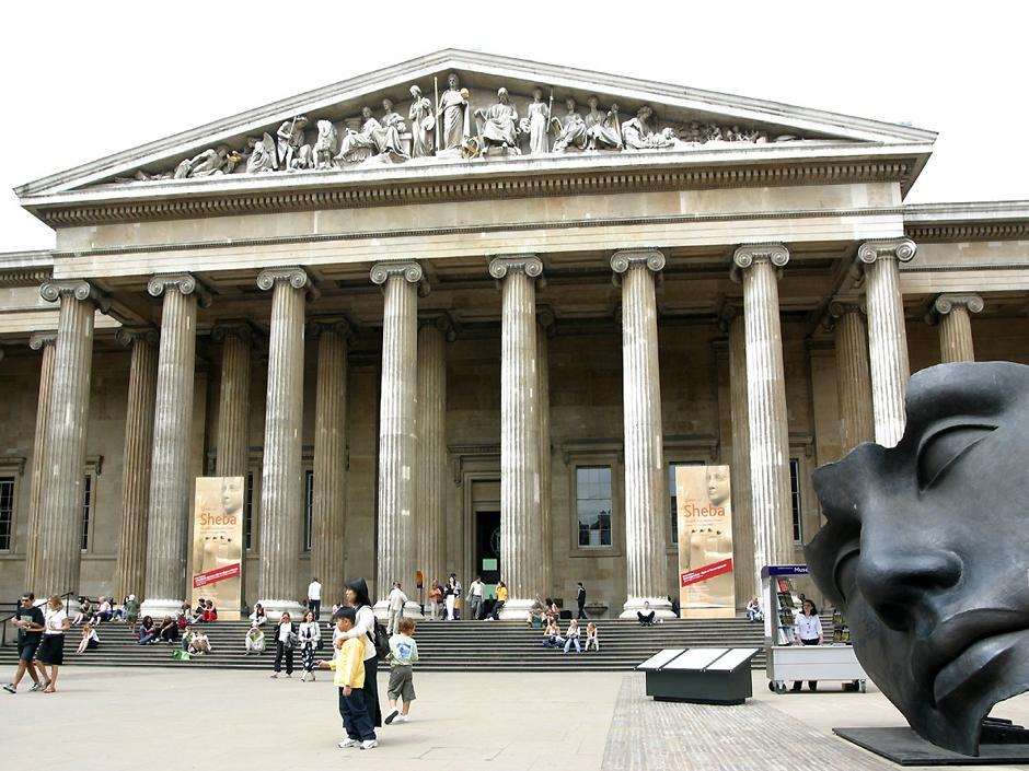 พิพิธภัณฑ์แห่งชาติประเทศอังกฤษ (British Museum)