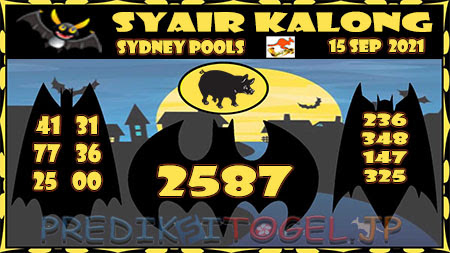 Prediksi Togel Kalong Sidney Rabu 15 September 2021