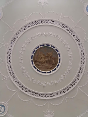 Ceiling of the Entrance Hall, Kenwood © R Knowles 2019
