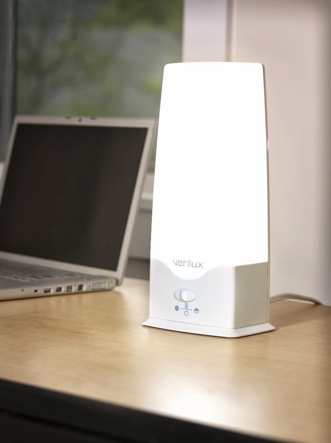 Verilux Happy Light Therapy Energy Lamp Vt05fww1 5000 Lux