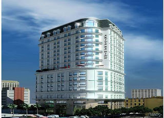 Khách sạn xây dựng bằng panel 3d beton