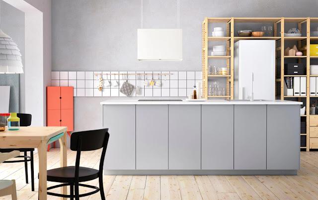 Menampilkan Tema Pop Art pada Model Kitchen Set