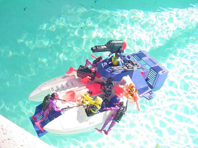 1988 Hydro Viper, 1998 Shipwreck, Shark 9000, Beach Head, 1993, 1994, Cutter, Ice Cream Soldier