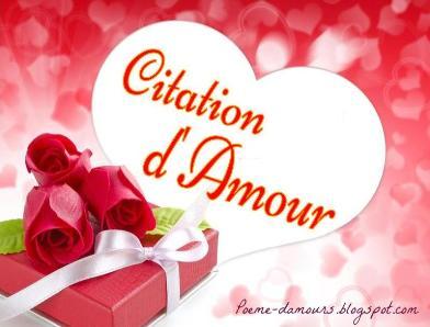 Citations Amours Phrases Romantiques Coeur Image