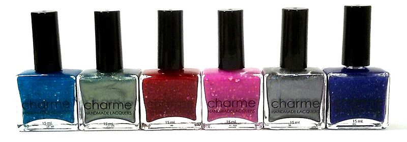 Charme Lacquers New York Collection