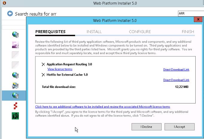 Install iis arr server 2012 r2 | Setup IIS with URL Rewrite
