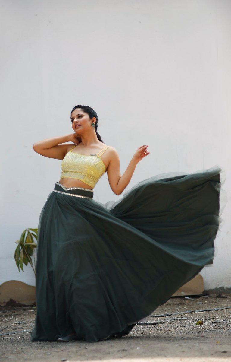 Telugu Actress Anasuya Bharadwaj Latest Hot Stills -6653