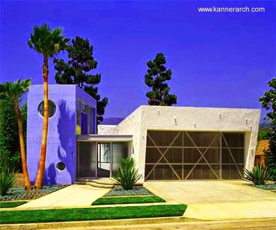 Arquitectura de casas moderna casa geom trica de for Casas modernas los angeles