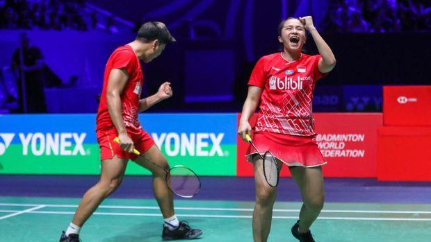 Pebulu Tangkis Praveen Dan Melati Ke Babak Kedua Di Fuzhou Open 2019