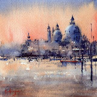 """2º premio """"Miniwatercolor Kyiv"""""""