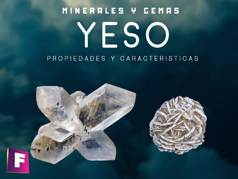 yeso propiedades caracteristicas y usos industriales | foro de minerales
