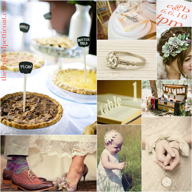 Backyard+yard+garden+wedding+lace+bride+groom+pie+reception+decoration+flower+girl+favors+centerpiece+table+invitation - Backyard Love