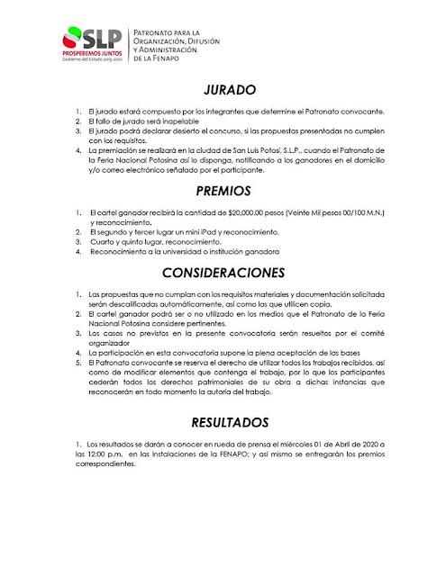 convocatoria cartel fenapo 2020 3